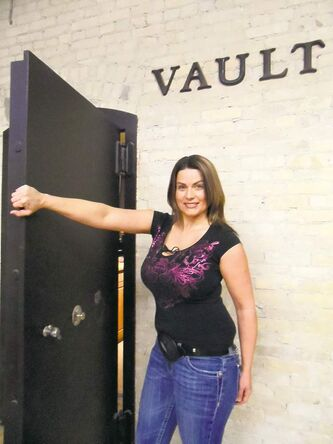 Amber Robinson says Vault will be the largest facility of its type in Winnipeg.