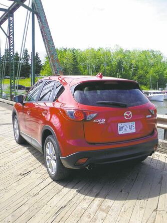 The Mazda CX-5 handles so well that it is easy to forget it's an SUV.