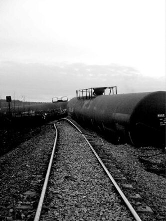 CN Rail's COO Jim Vena apologized to area residents after a derailment Saturday near Gainsford, Alta.
