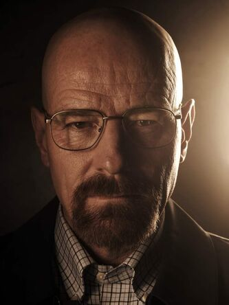 Bryan Cranston returns as lead character Walter White in the latest season of