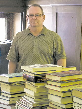 Rick Watkins of the Cornish Library. Did you know that Winnipeg's public libraries accept donations of used books?