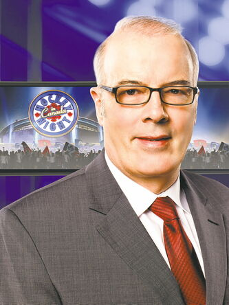 July 24 -- Winnipeg-based Hockey Night in Canada broadcaster Scott Oake is still thrilled to be part of the show. (SUPPLIED PHOTO) METRO