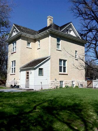 Caron House in Charleswood is a reminder of the Winnipeg suburb's rural past.
