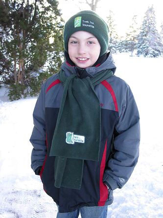 In this March 2013 file photo, Evan Loewen was preparing to take part in the Trek for Tourette event, hosted by the Winnipeg Chapter of the Tourette Syndrome Foundation of Canada.
