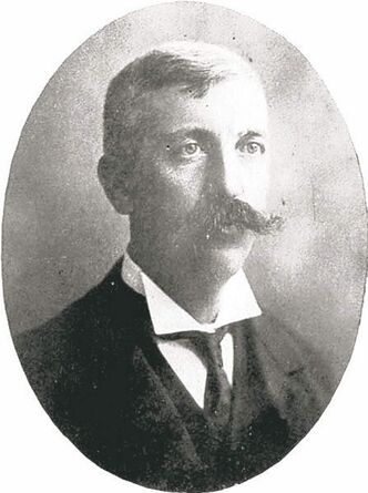 E.F. Hutchings, owner of GWS and builder of the tunnel, in a photo from the Manitoba Historical Society