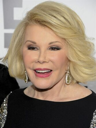 "FILE - In this April 30, 2012 file photo, Joan Rivers attends an E! Network event in New York. Joan Rivers' family said the comedian has been moved from intensive care into a private room, where she is ""being kept comfortable."" No further details were released Wednesday, Sept. 3, 2014, on Rivers' condition. On Tuesday, the family confirmed she was on life support at Mount Sinai Hospital in Manhattan after going into cardiac arrest last Thursday. (AP Photo/Evan Agostini, File)"