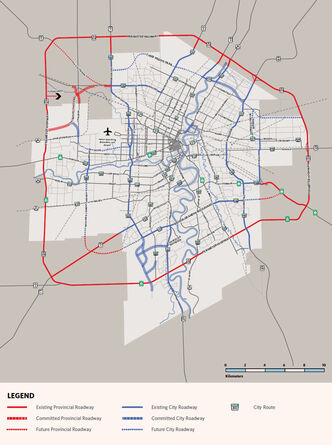 Road network implementation plans