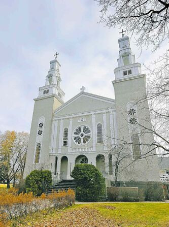 The third and current St. Norbert church was built in 1937. The historic parish teems with history.