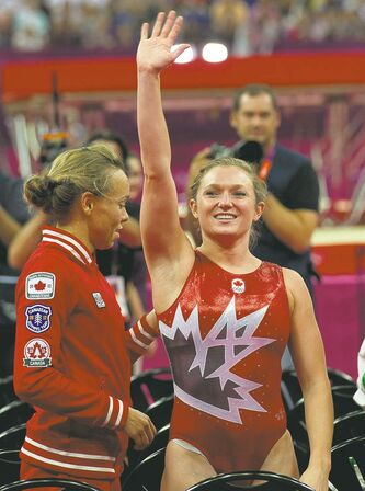 Ontario�s  Rosannagh  MacLennan earned Canada�s only gold medal (trampoline) in  London and is just one of the country�s rising Olympic stars.