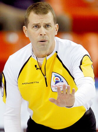 Manitoba skip Jeff Stoughton