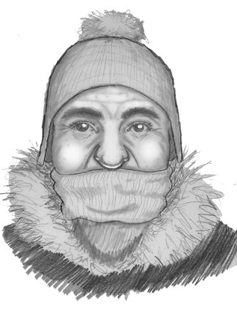 Police have released a sketch of a man suspected of an attempted abduction.