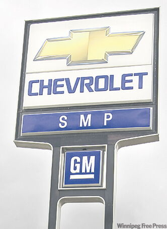 A GM spokeswoman said the auto­maker has 33 dealerships in Mani­toba, including eight in Winnipeg. She wouldn't say whether any received termination notices.