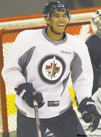 Evander Kane           returned to Jets lineup Tuesday night.