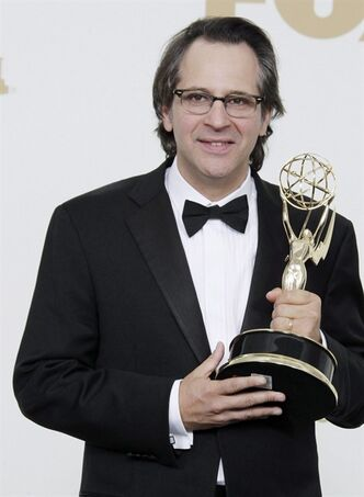 "When ""Parenthood"" creator Jason Katims created the character Max Braverman - an intelligent, inscrutable, insect-obsessed youngster with Asperger's - he had in mind his own son, Sawyer, who was similarly diagnosed. Katims holds the award for best writing for a drama series for"