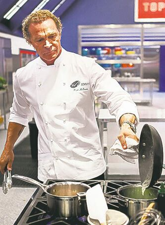 Chef Mark McEwan creates ricotta gnocchi.