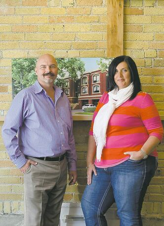Fresh co-owners Sean Fehr and Janice Froese want to bring luxurious brownstone condos to Winnipeg.