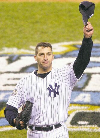 Yankees' starting pitcher Andy Pettitte will be tipping his cap to the crowd at Yankee Stadium one last time Sunday.