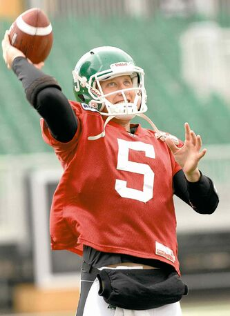 Bombers QB Drew Willy is proving he is worthy of the starter's role by doing his best to make sure his teammates are familiar with the CFL-style of game.