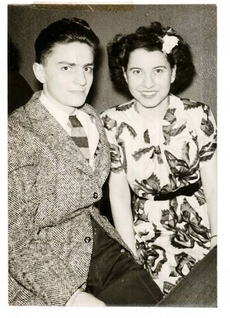 <p>supplied</p><p>Bernice Marmel and her ex-husband Max Marmel.</p>
