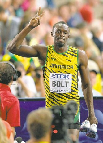 Jamaica's Usain Bolt prefers tigers to lions.