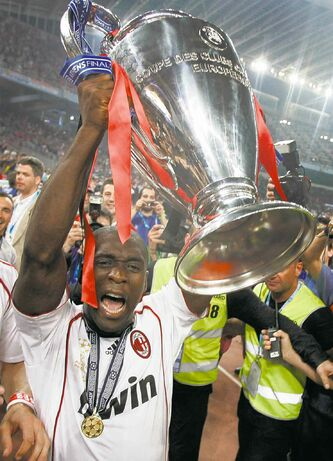 AC Milan's Clarence Seedorf was a first-rate player. Now we'll see how he does as a manager with the Rossoneri.