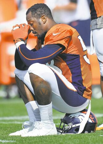 The Broncos will be without Von Miller until their seventh game on Oct. 20.