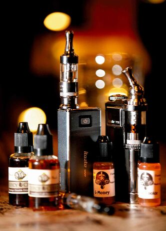 Some electronic cigarettes and liquids