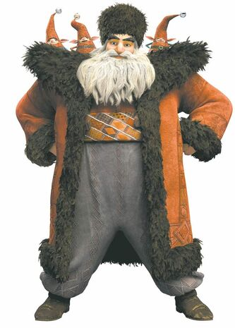 Santa in Rise of the Guardians
