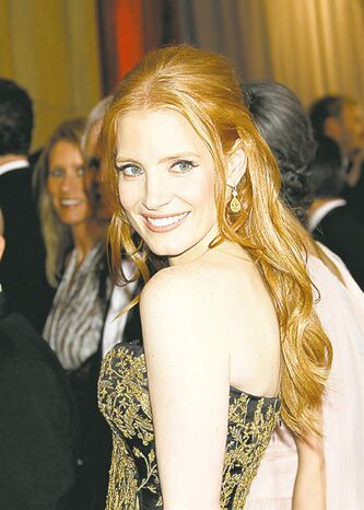 Jessica Chastain is the Best Actress nominee for her performance in