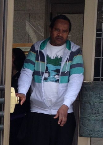 Mahmud Osman Ali, 48, leaves the Winnipeg Law Courts Complex on Wednesday.