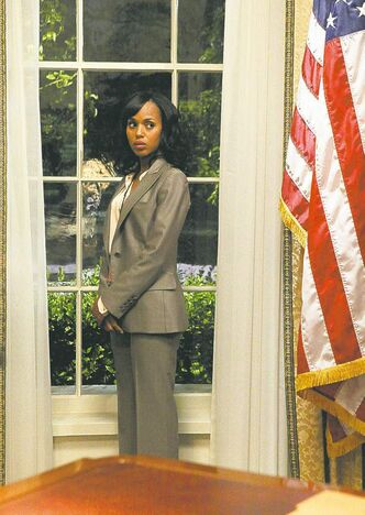 Washington stars as Olivia Pope in Scandal.