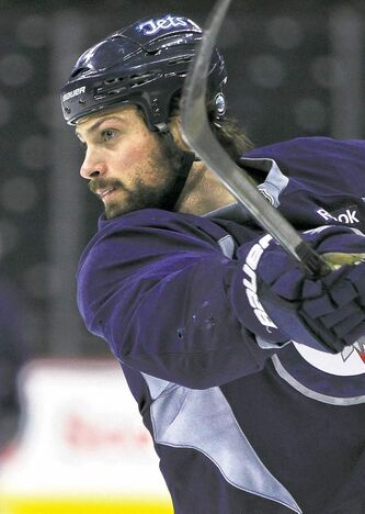 Jets defenceman Zach Bogosian never fails to stand up for his team, whether it's with fisticuffs against opponents or with the media, win or lose.
