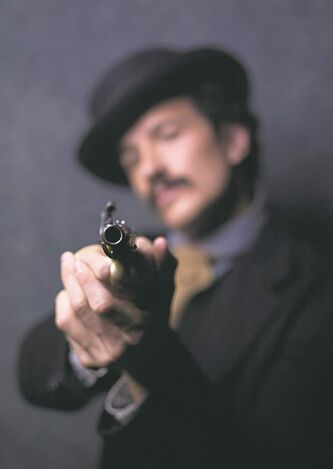 Jesse Johnson portrays John Wilkes Booth.