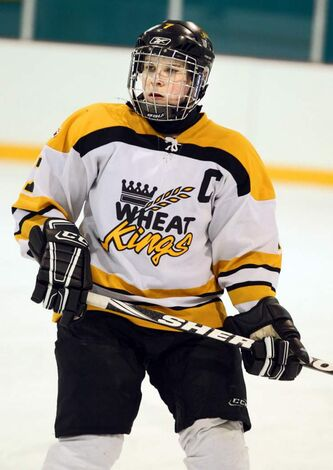 Brandon Wheat Kings team member James Shearer.