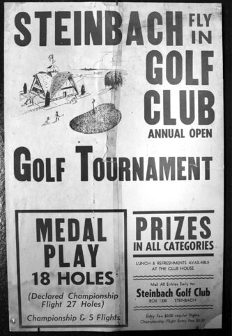 Old golf club memorabilia