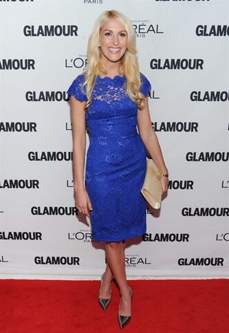 "FILE - This Nov. 11, 2013 file photo shows honoree Kaitlin Roig-DeBellis attending the 23rd Annual Glamour Women of the Year Awards at Carnegie Hall in New York. Roig-DeBellis, a teacher at Sandy Hook Elementary School who helped save students' lives during a mass shooting, has a book deal. G.P. Putnam's Sons for ""Choosing Hope: Moving Forward from Your Life's Darkest Hour."" The book will be released in the spring of 2015. (Photo by Evan Agostini/Invision/AP, File)"