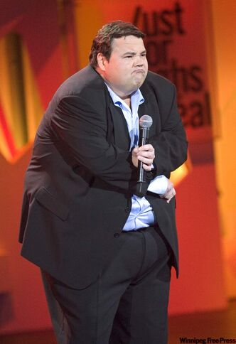John Pinette will perform at the Burton Cummings Theatre in October.