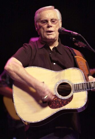 Legendary musician George Jones