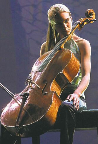 Cellist Denise Djokic of Halifax.