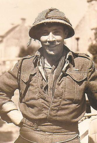 Maj. Lockie Fulton landed not far from where the museum stands today and saw action until the end of the war.