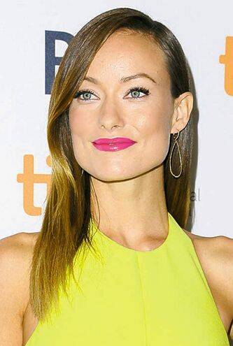 Actress Olivia Wilde arrives at the premiere of the film Third Person at the Toronto International Film Festival on Monday, Sept. 9, 2013, in Toronto. (Photo by Arthur Mola / Invision/ The Associated Press files)