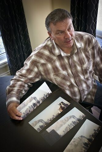Dan Denette remembers his experience in New York City on Sep. 11, 2001, at his home near Claresholm, Alta., Saturday, Aug. 27, 2011.THE CANADIAN PRESS/Jeff McIntosh