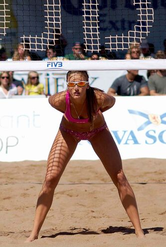 Beach volleyball player Taylor Pischke, daughter of Winnipeg volleyball legend Garth Pischke, has her eyes set on competing at the 2015 Pan-Am Games and 2016 Olympics.
