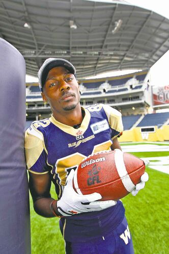 Terrence Edwards played nine years in the CFL, the last seven with the Winnipeg Blue Bombers.