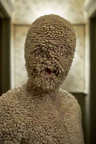 ALLEN FRASER / SYFYI</p> <p>Nothing but the tooth: A demonic human known as 'Tooth-Child', with teeth covering its entire body, is just one of disturbing images from the new TV show Channel Zero: Candle Cove.</p> <p>&#8220;> </a> </p> <figcaption>   <!-- A generated by theme -->   <script async src=
