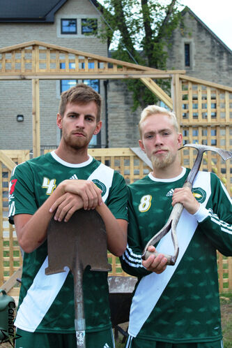 Jordon Zimmerly and Jonah Langelotz spent three weeks in Ecuador working with a men's soccer club.