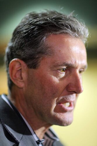 Progressive Conservative Party Leader Brian Pallister