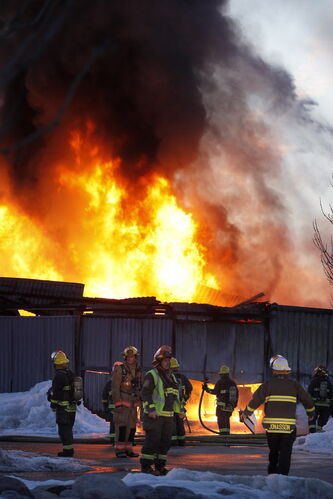 A shed fire at Canad Inns Stadium on April 2, 2013 was covered by the Bombers' insurance.