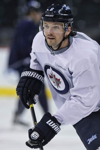 Winnipeg blue-liner Ron Hainsey has displayed a rare level of commitment to the game this season.
