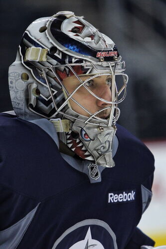 Ondrej Pavelec runs hot and cold. His career save percentage is a mediocre .906